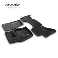 3D Коврики Euromat3D EVA В Салон Для LAND ROVER Range Rover Vogue L405 (2013-) № EM3DEVA-003106