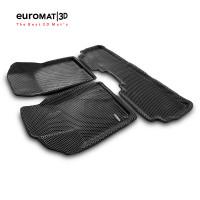 3D Коврики Euromat3D EVA В Салон Для TOYOTA Highlander (2014-) № EM3DEVA-005127