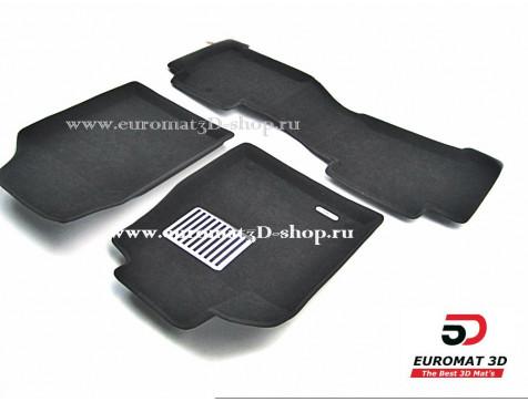 Текстильные 3D коврики Euromat в салон для ACURA MDX (2006-2014) № EM3D-000001